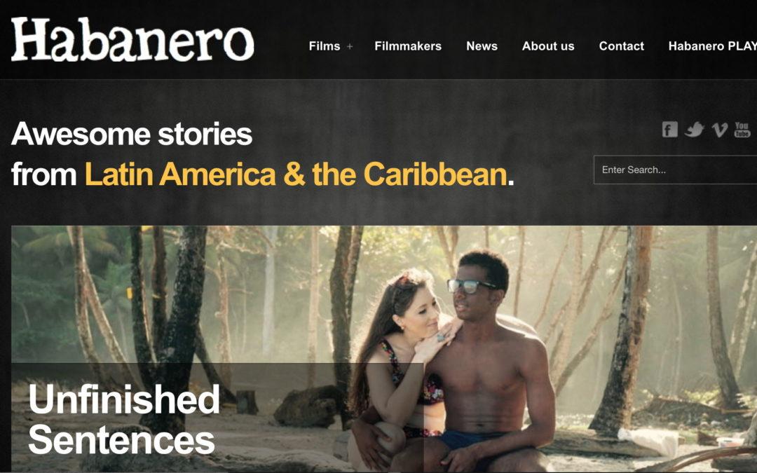 Sitio web Habanero Film Sales