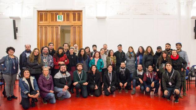 RED. Encuentro Nacional de Festivales de Cine. I Taller de Festivales. Valparaíso 2018