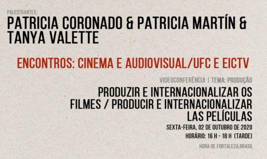 """Webinario """"Encontros: Cinema Audiovisual/UFC e EICTV"""""""
